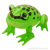 Green Frog Inflatable (38cm)